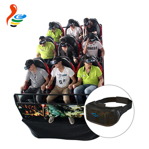 indoor theater mobile truck virtual reality motion 9 seats vr 9d 12d cinema simulator