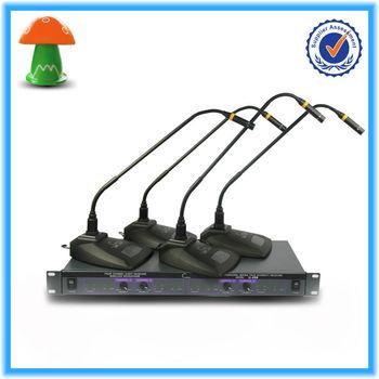 High Quality Pa System Wireless Desktop Microphone U-499