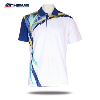 31d18fca Sublimation printing Polyester T-Shirt,Cheap Sports Polo T Shirt Customized  Logo