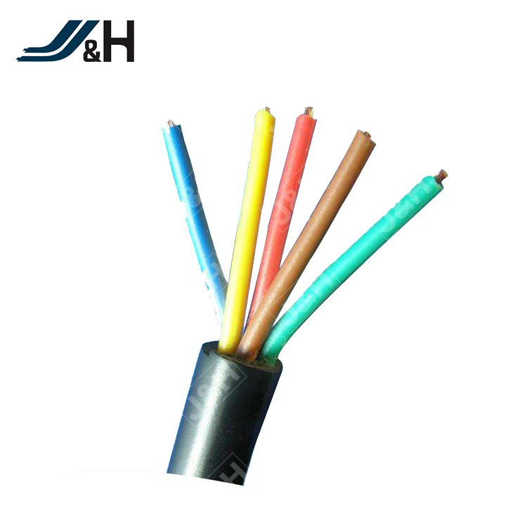 5x0.35mm2 Ygzpf Teflon Coated Wire Silicone Rubber Jacket Cable ...