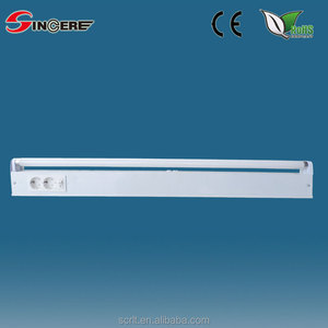 Cabinet light 15W classical IP20 fluorescent tube with socket switch
