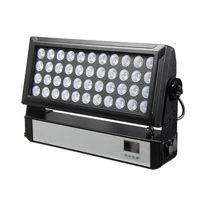 Outdoor IP65 stage dmx RGBW 4 in 1 LED wall wash light