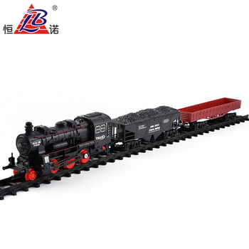 Classic B/O toy train set for kids with light and music