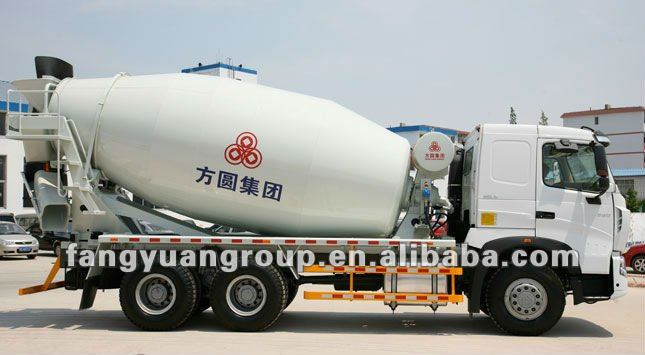 China wholesale concrete mixer truck weight FYG5257GJBC/12