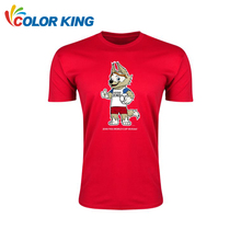 Custom shirt 2018 Russia Word Cup 100% cotton printing A4 size custom logo t shirt for t-shirt printing machine