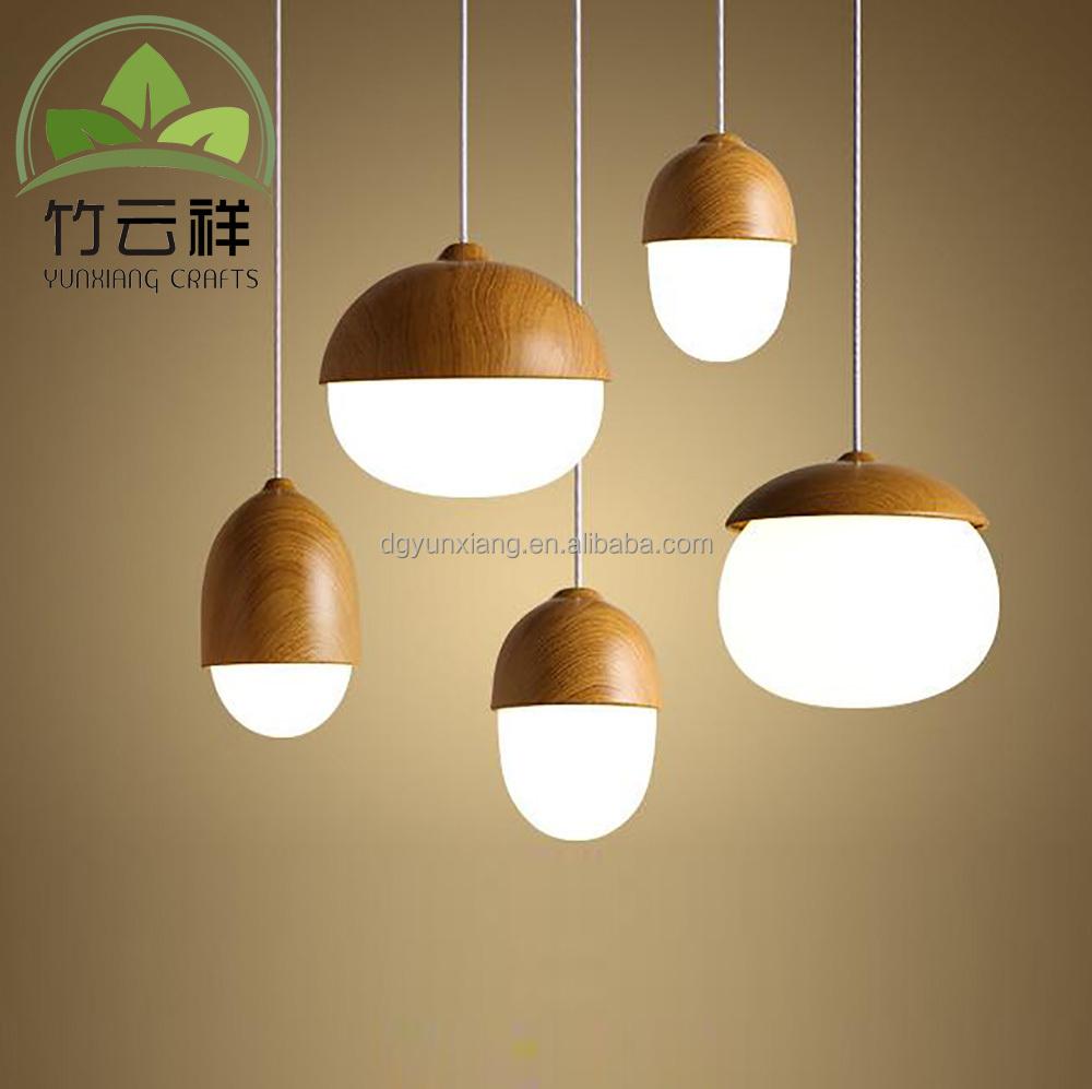Custom Wood Lamp Shell Wooden