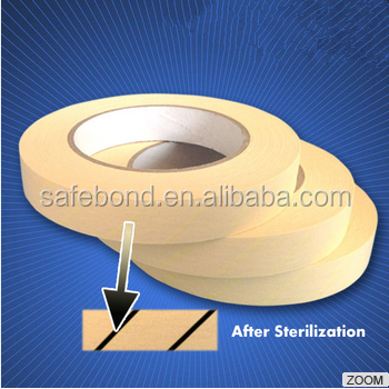 Discount on Steam Autoclave Tape Disposable Chemical Indicator Tape and Adhesive Sterilization Indicator Tape