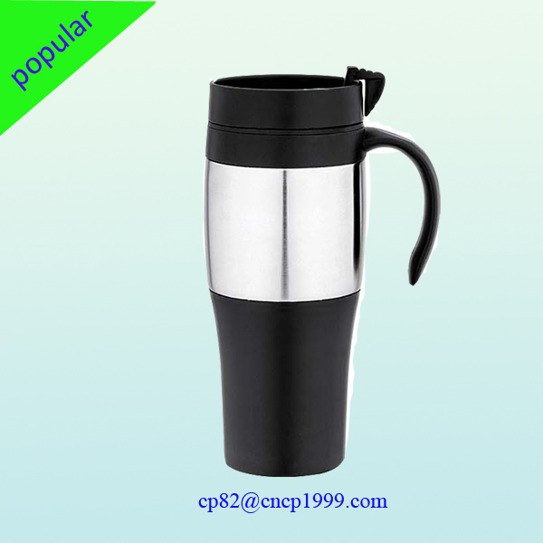 Wide Bottom Stainless Steel Travel Mug Product On Alibaba