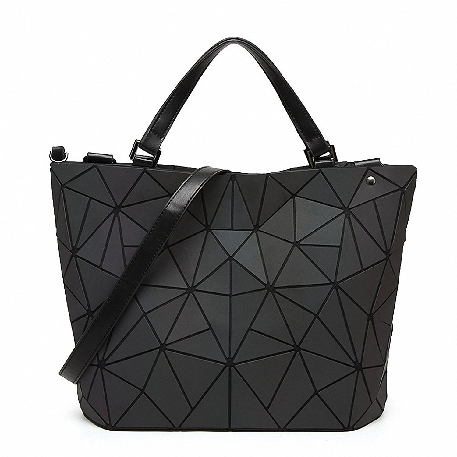 30d804bdc629 Get Quotations · New Bao Bao bag Women Luminous sac baobao Bag Diamond Tote  Geometry Quilted Shoulder Bags Laser