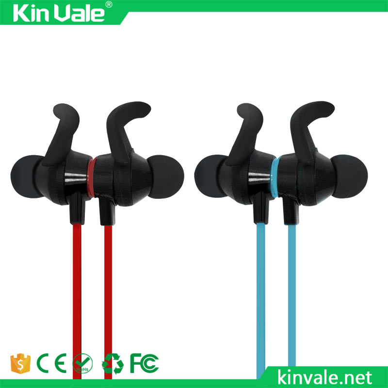 Kinvale Bluetooth Earbuds Wireless 4.1 Magnetic Headphones Stereo magnetic shenzhen bluetooth headset