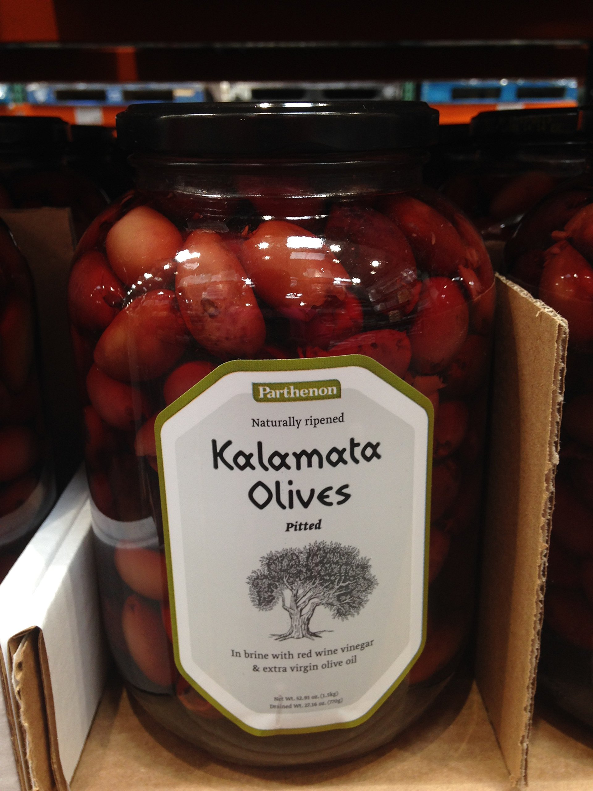 Parthenon pitted kalamata olives 1.69 lb
