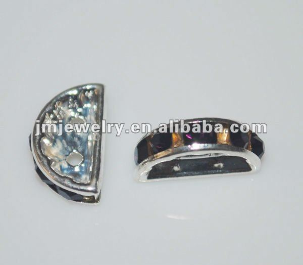 moon shaped crystal beads for jewelry making