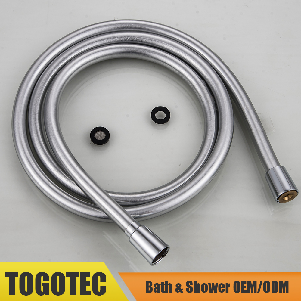Silver Grey PVC Shower Hose for Shower Head