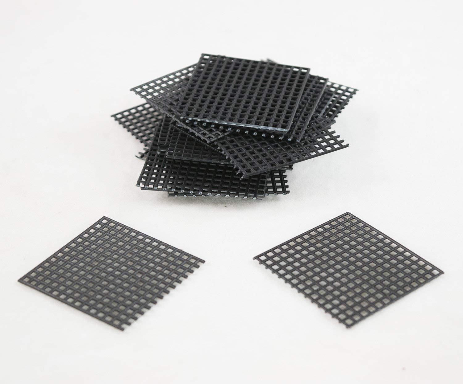 "US Made 20 Pcs 2""x 2"" Plastic Drainage Mesh / Screen / Net for Bonsai Pot"