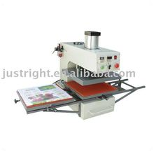 40*50cm CE approved double stations semi-auto pneumatic heat transfer press machine for t-shirt