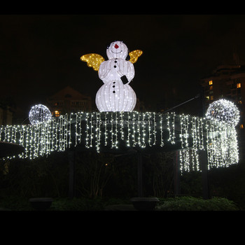 2015 wholesale funny lighted snowman outdoor christmas decoration inflatable decoration