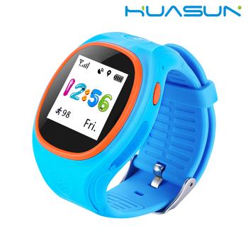 f38bcbd5e6 Wristband Del cuoio Della Vigilanza Del Telefono GPS Tracker Per Bambini  Orologi Da Polso chiamata A