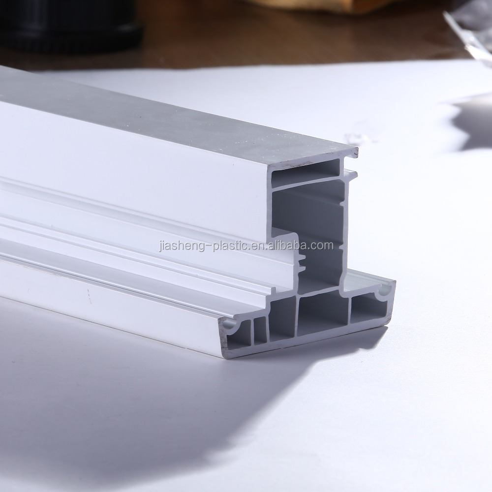 PVC plastic extrusion profile for sliding windows and doors