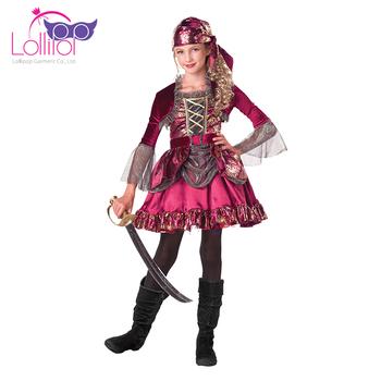 Wholesale pirate fancy dress kids girls first mate kids pirate dress up costume for girls  sc 1 st  Alibaba & Wholesale Pirate Fancy Dress Kids Girls First Mate Kids Pirate Dress ...