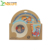 Handmade Natural Solid Multicolored Bamboo Fibre Tableware