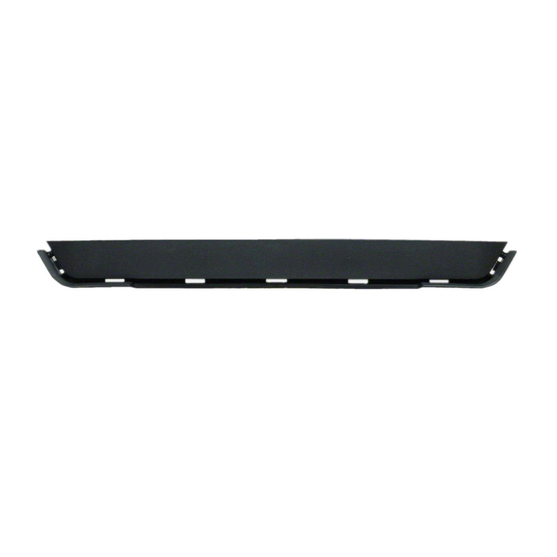 Crash Parts Plus Crash Parts Plus Front Black Bumper Molding for 2014-2015 GMC Sierra 1500