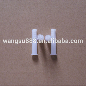 Wangsu 8mm White Plastic Anchor Wall Plug