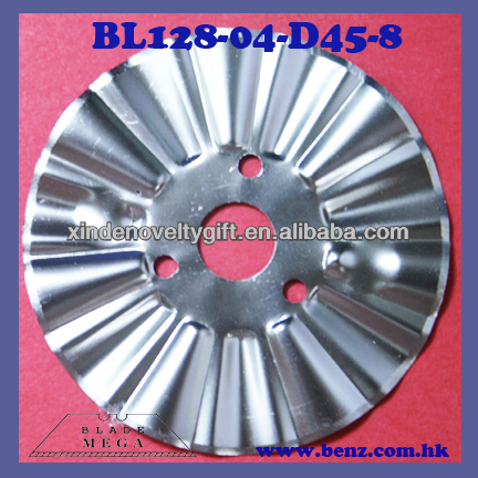 44.60mm diameter, Victorian style cutting pattern - Rotary Circular Round paper cutting blade