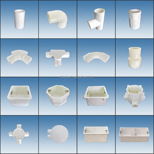 Cheapest high quality pvc coupling fittings Pipe Fittings electrical conduit tee fittings