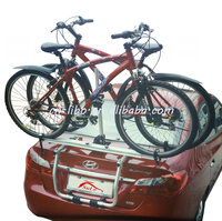 Universal tilting towbar ball mounted bike carrier steel hot selling tow ball bike carrier