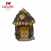 Popular decorative miniature garden house decoration for fairy garden miniature