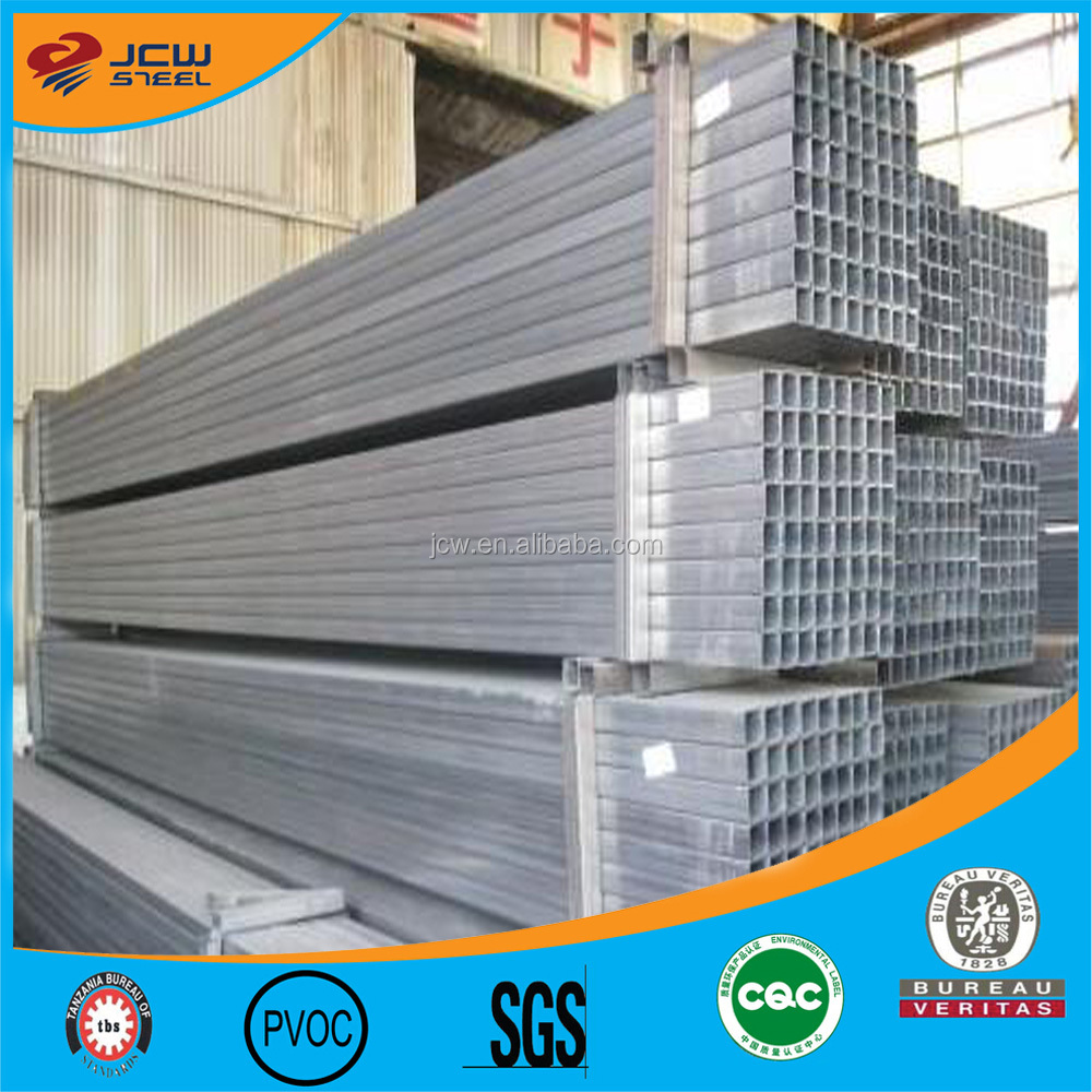 ERW Galvanized Rectangular/Square Pipe for Construction
