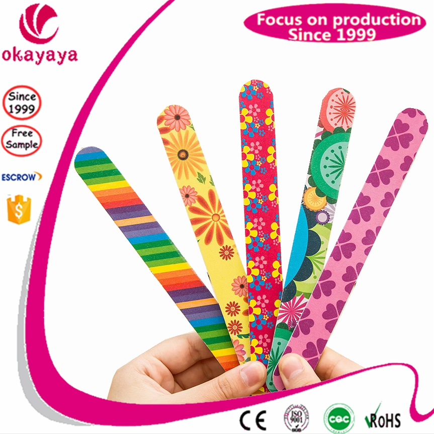 personalized wholesale nail files bulk nail files