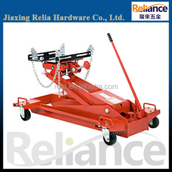 1.5 Ton Air Hydraulic Transmission Jack, Low Floor Type For Truck