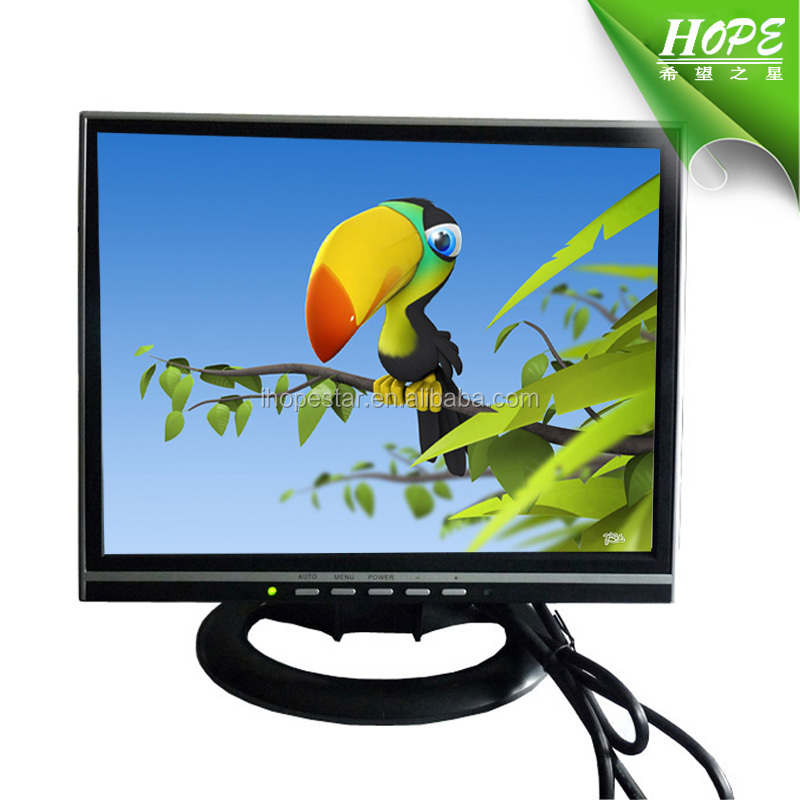 Hot Square Screen AV TV Input 13.3 Inch TFT LCD Monitor