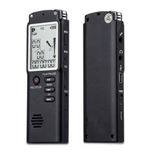 T60 8GB Originale Registratore <span class=keywords><strong>Vocale</strong></span> <span class=keywords><strong>USB</strong></span> Professionale 96 Ore Dittafono Digital Audio Voice Recorder Con WAV, MP3 Lettore