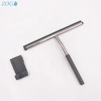 Easy Cleaning Bathroom Stainless Steel Squeegee for Shower Door