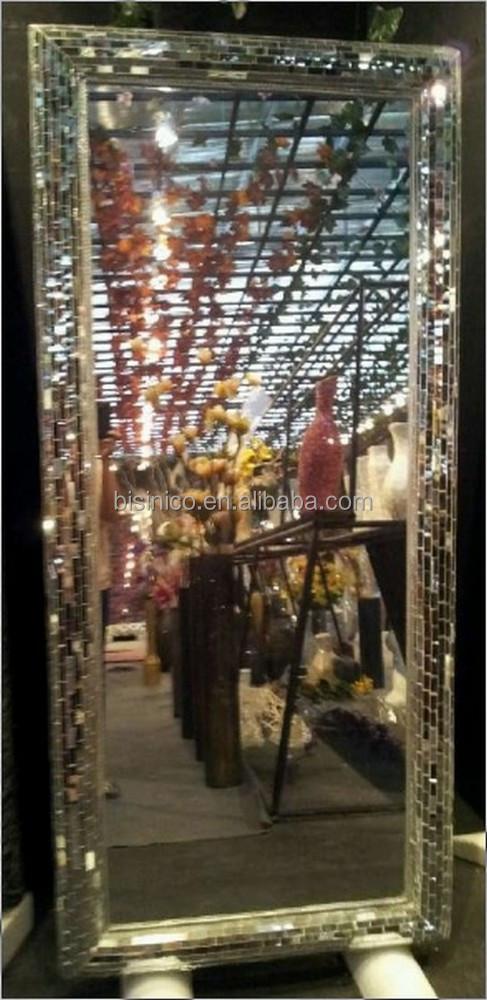 Rota Regular Mosaico De Vidrio Espejo Marco,Llamarada Biselados ...
