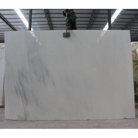 High Quality chinese pure white marble slab for sale for bathroom, jade white marble