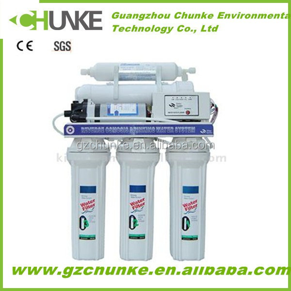 CHUNKE hot selling ro home water systems ro dolphin water purifier price