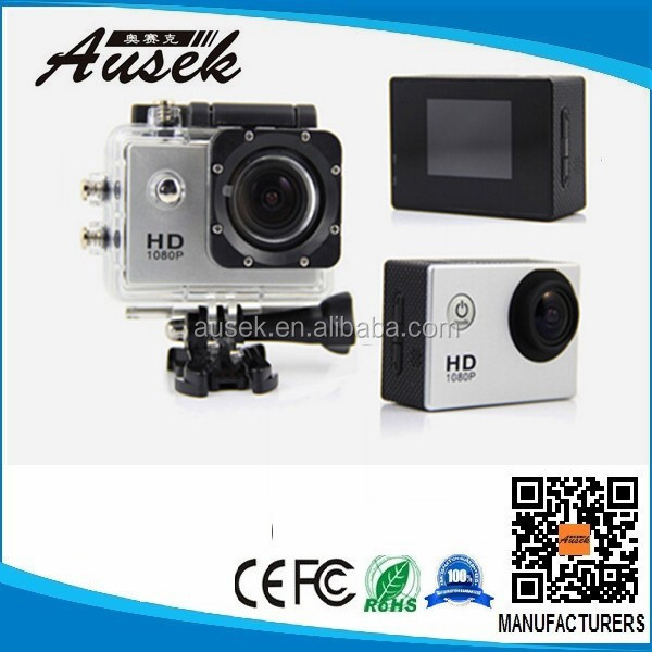 Newest portable extreme sports/hd 1080p helmet sport action camera