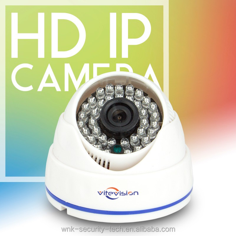 Vitevision brand low price plug and play rotation IP camera dome for bus cctv camera