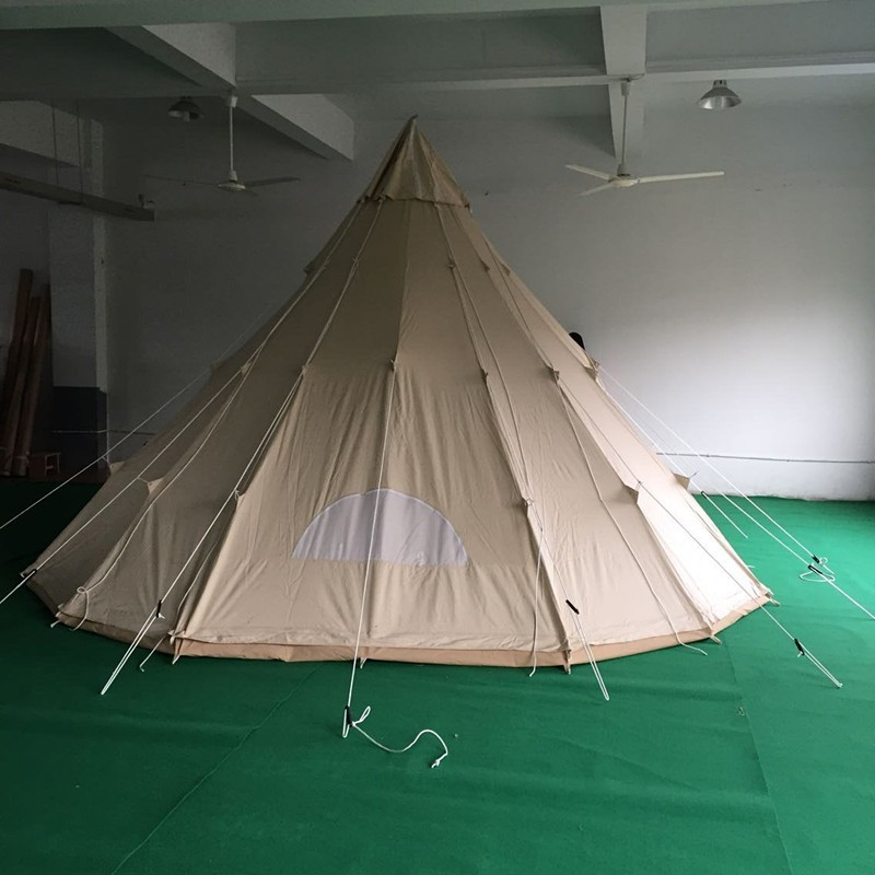 Teepee Tent 100% Cotton Canvas Single Pole Tipi Tent & Teepee Tent 100% Cotton Canvas Single Pole Tipi Tent View tipi ...