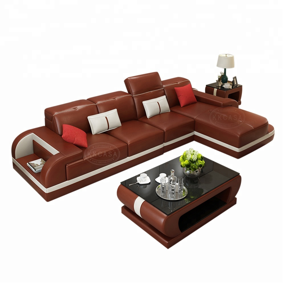Living Room Furniture Living Room Sets Sweet-Tempered New Launch Fancy Fabric Sofa Set From Cbm Mart In China