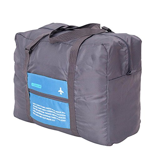 b0999171b165 Get Quotations · Kangkang  Portable Foldable Luggage Bag Waterproof Big  Capacity Travel Trolley Luggage Bag Clothes Storage Carry