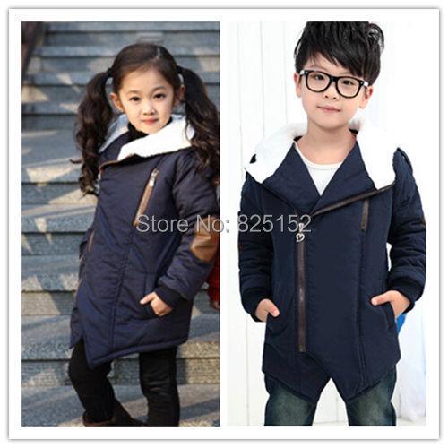 Kids Toddlers Child Boys Girls Clothing Zipper Fleece Hoodies Warm Coat Jacket Snowsuit Children Outerwear 2