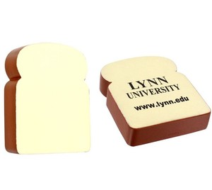 Quality PU Relax Stress Toy Bread Slice