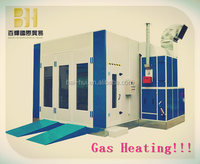 Gas Heating Car Spray Painting and Baking Booth with CE Approved