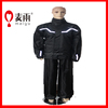 Maiyu outside polyester pongee mens waterproof heavy rubber rainsuit
