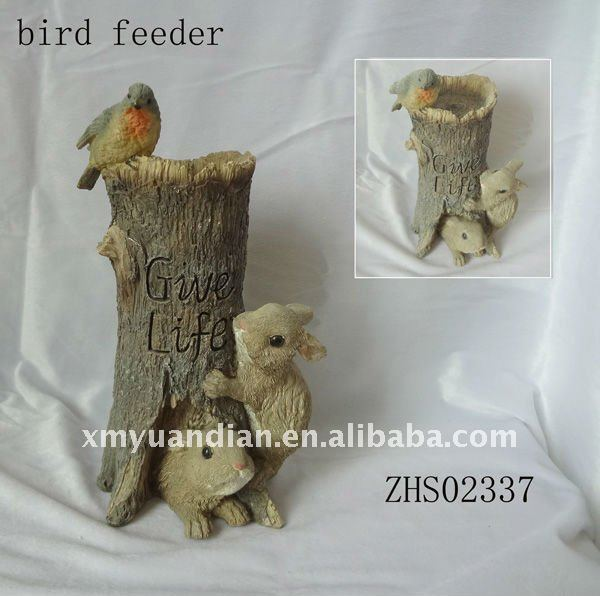 rabbit design Bird Feeder