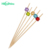 Eco-Friendly Party Serving Round Decorative Bamboo Pick